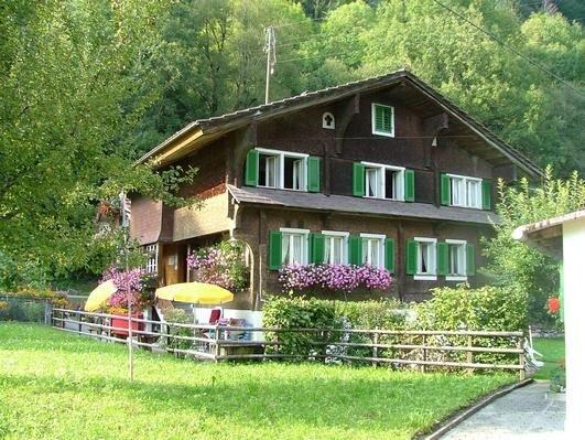 Ferienhaus Lungern für 8 - 10 Personen mit 5 Schlafzimmern - Bauernhaus, alquiler de vacaciones en Wilen