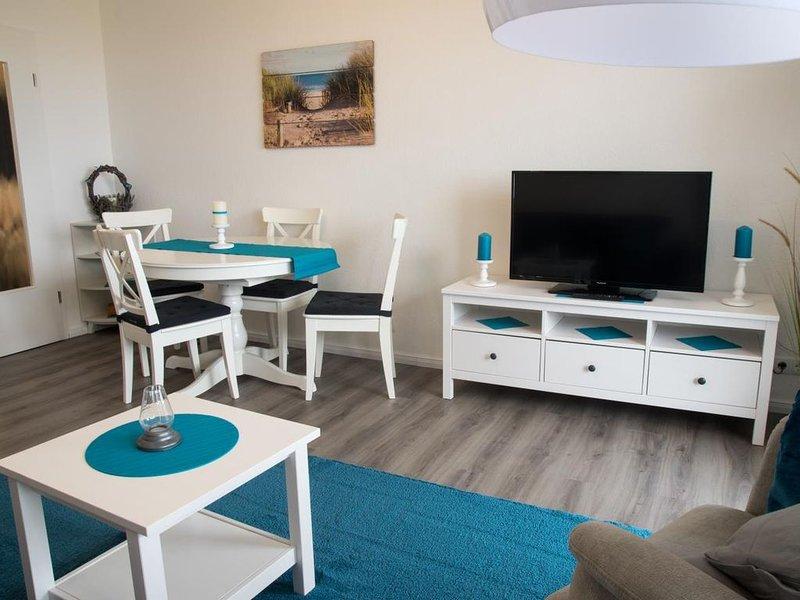 SAH 4 - Gemütliche Wohnung mit direktem Seeblick und Schwimmbad SAH4 – semesterbostad i Cuxhaven