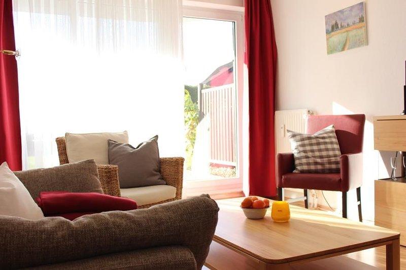 Haus Oasis Wohnung 10, Terasse, Strandkorb am Strand (saisonbedingt), Nichtrauch, casa vacanza a Duhnen