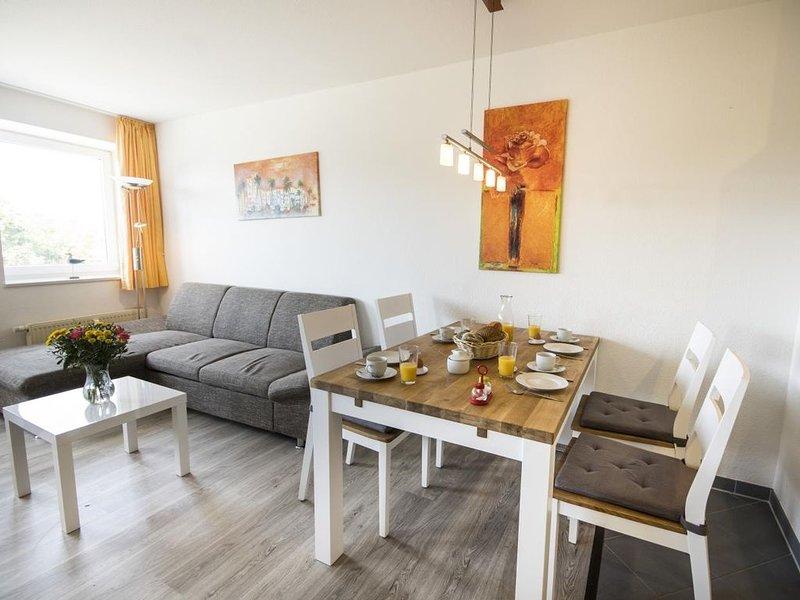 C1.4 - Helle, freundliche Ferienwohnung im nordischen Stil, strandnah für bis zu – semesterbostad i Cuxhaven