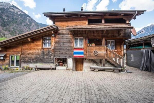 Ferienhaus Lungern für 7 - 10 Personen mit 3 Schlafzimmern - Bauernhaus, alquiler de vacaciones en Wilen