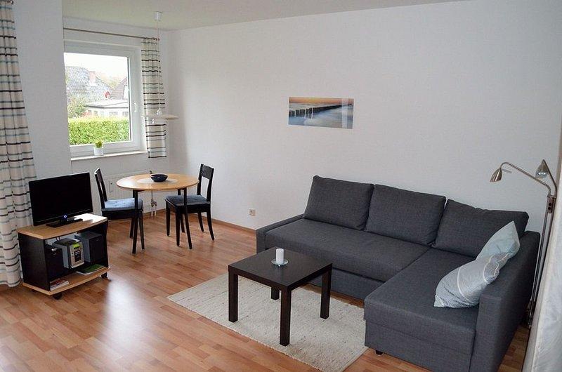 Haus Oasis Wohnung 5, WLAN, Suedbalkon, Nichtraucher, casa vacanza a Duhnen