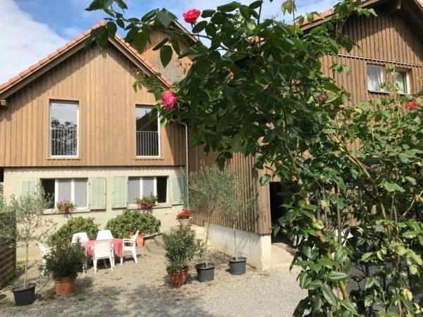 Ferienwohnung Ermensee für 4 Personen mit 2 Schlafzimmern - Ferienwohnung, location de vacances à Obfelden