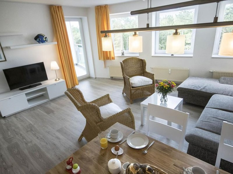 A3.2 - Moderne, gemütliche Ferienwohnung, strandnah für bis zu  4 Personen – semesterbostad i Cuxhaven