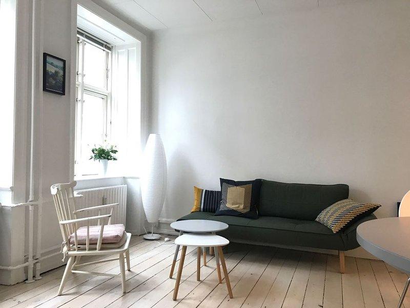 City Apartment in Kopenhagen mit 2 Schlafzimmern 3 Schlafplätzen, Ferienwohnung in Kopenhagen