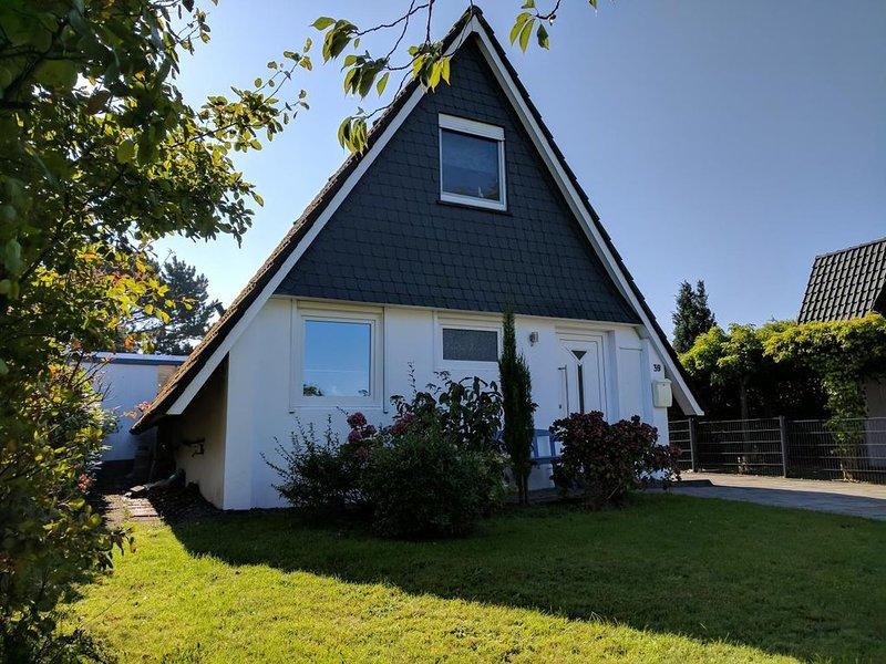 CB39 - Luxuriöses Ferienhaus mit Garten in Strandnähe für 4 Personen – semesterbostad i Cuxhaven