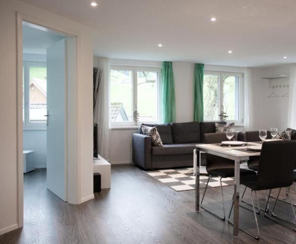 Ferienwohnung Ebnat-Kappel für 2 - 4 Personen mit 1 Schlafzimmer - Ferienwohnung, location de vacances à Rapperswil