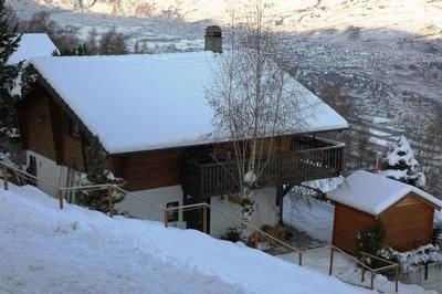 Ferienhaus Les Agettes für 6 - 8 Personen mit 3 Schlafzimmern - Ferienhaus, vacation rental in Grimisuat