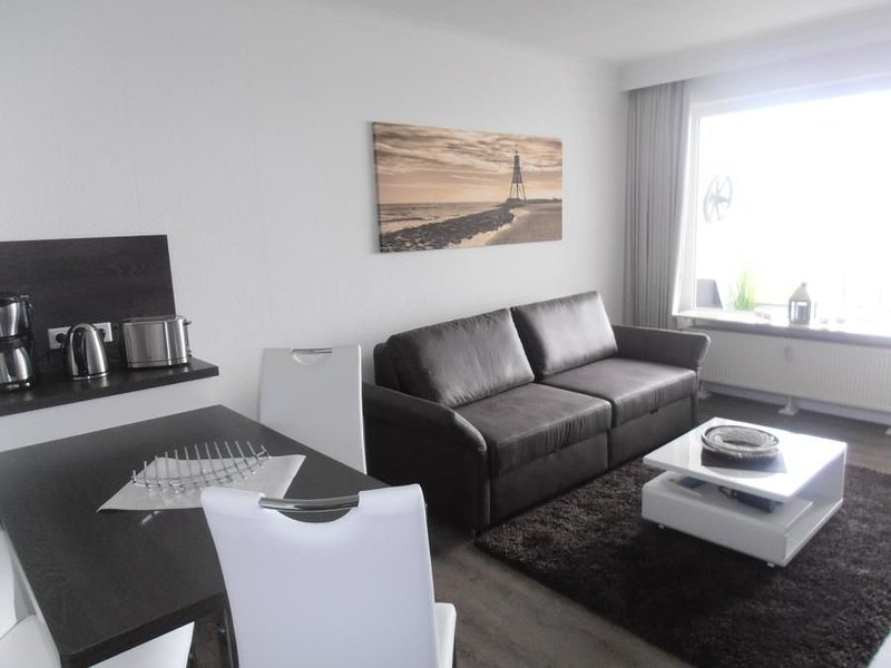 Strichweg 75A App. 54, WLAN, Balkon, Seesicht, Nichtraucher, casa vacanza a Duhnen