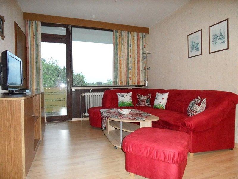 Renovierte Ferienwohnung mit SatTV Internet Küche und schöner Aussicht, vacation rental in Deggendorf