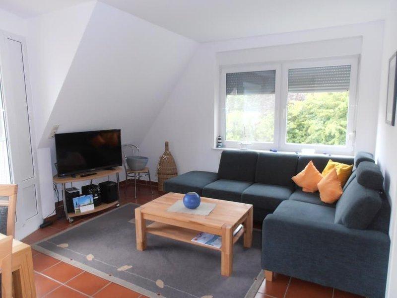 Anlage am Wehrberg Wohnung 5, 6 Personen, WLAN, Sued-Balkon, ruhige Lage, Nichtr, location de vacances à Cuxhaven