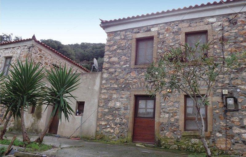 2 Zimmer Unterkunft in Monemvasia, location de vacances à Velanidia