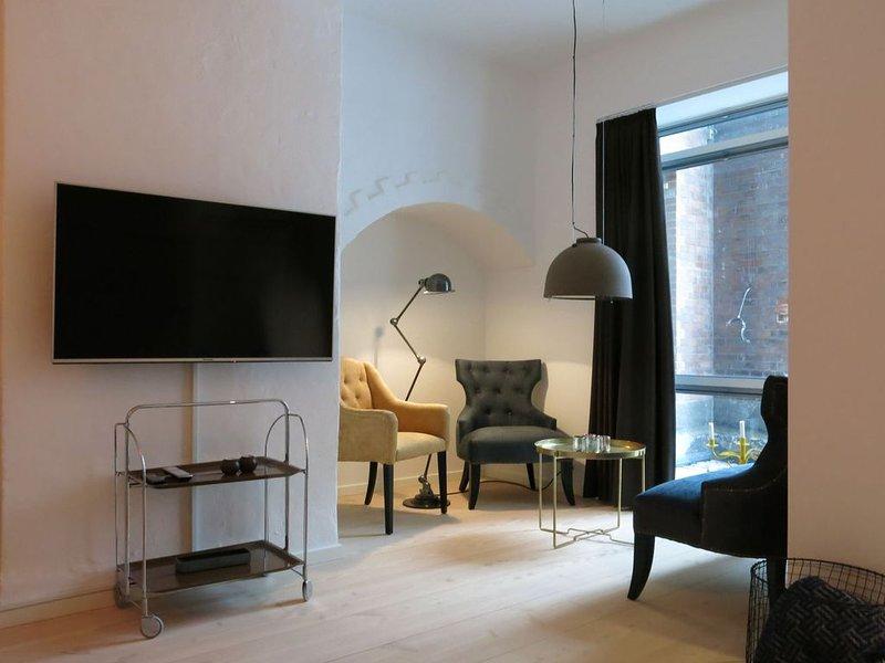 City Apartment in Kopenhagen mit 1 Schlafzimmern 5 Schlafplätzen, vacation rental in Copenhagen