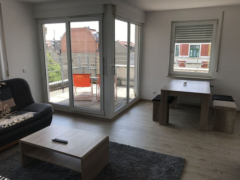 Exklusive Wohnung mit Dachterasse, holiday rental in Leipzig