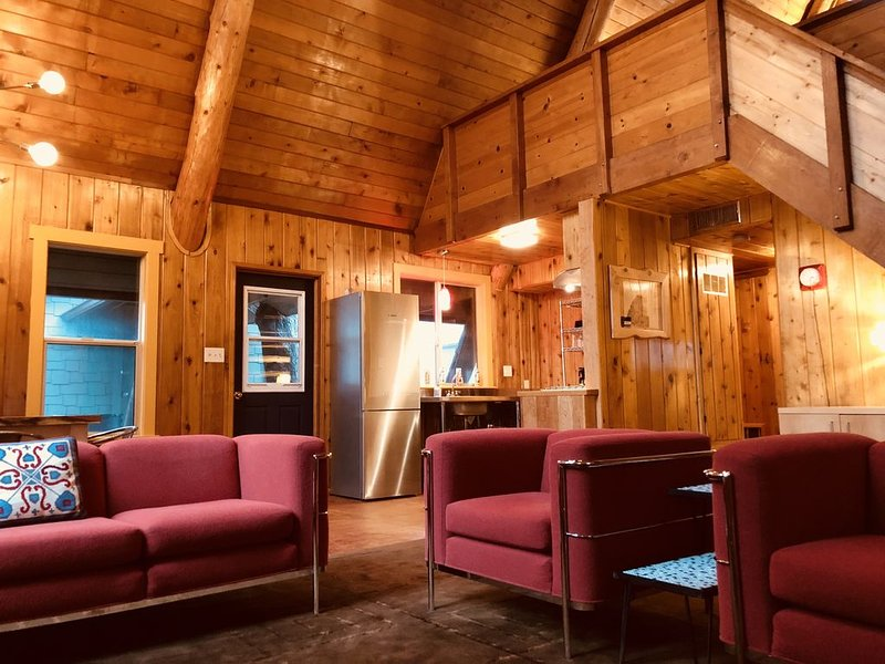 Modern A-Frame Cabin located at Pinecrest Retreat, holiday rental in Julian