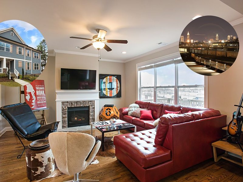 New Hip Midtown Home with 180 Skyline Views, vacation rental in Atlanta