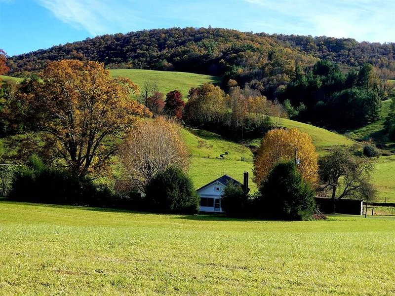 Charming 1930's Farmhouse located centrally between Boone/West Jefferson, NC!!!, holiday rental in Fleetwood