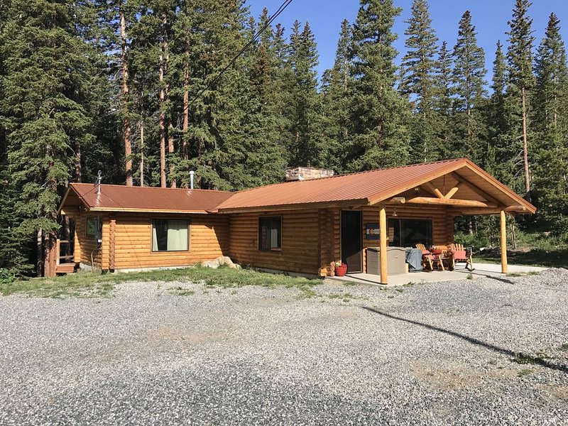 Remodeled Log Cabin On The Creek!, vacation rental in Dumont