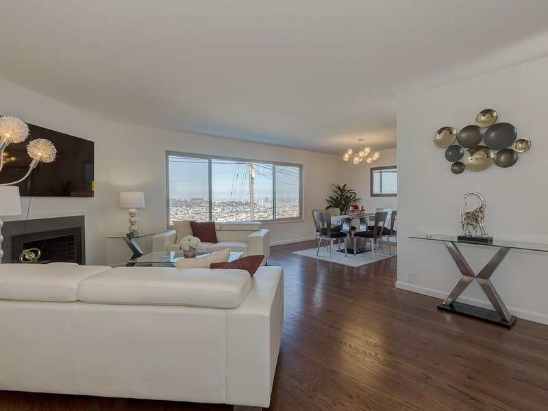 Breathtaking 180 Degree Ocean, Bay and City Views., aluguéis de temporada em South San Francisco