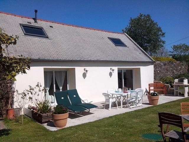 Gite 4p avec jardin Saint-Nic Pentrez bord de mer presqu'ile de Crozon,, holiday rental in Landevennec