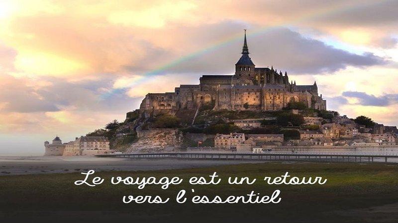Maison ***en baie du Mont Saint Michel pour 2 à 6 personnes, casa vacanza a Saint-Broladre