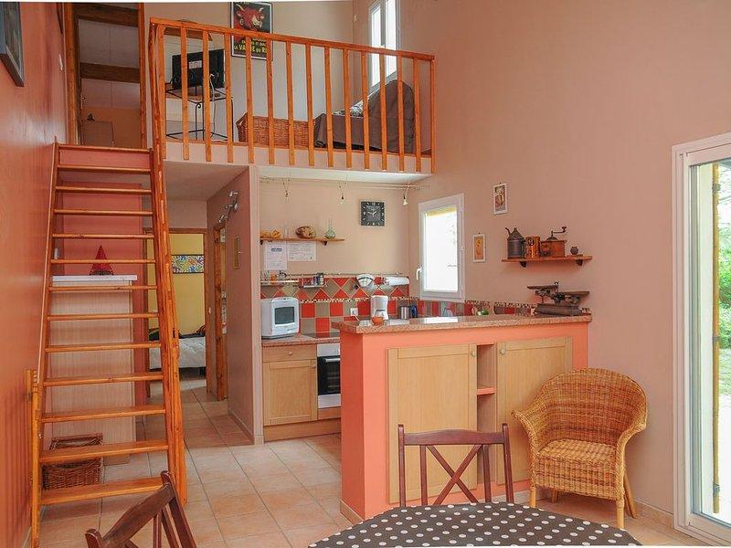 Promotion Juillet- Maison de vacances indépendante tout confort, holiday rental in Junas