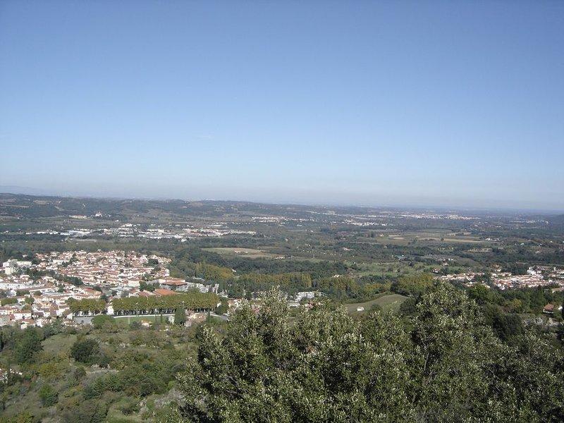 Roussillon plain