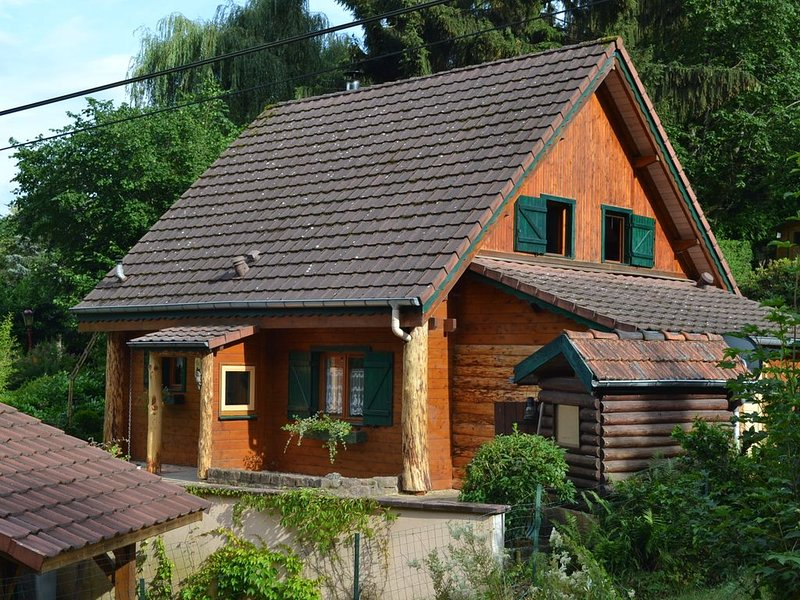 Chalet du petit ruisseau, alquiler vacacional en Breitenau