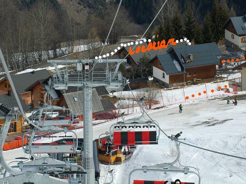 CHALET APPARTEMENT Gîte de France  3 épis  près des pistes SPA/SAUNA OFFRE 21/01, holiday rental in Villarembert
