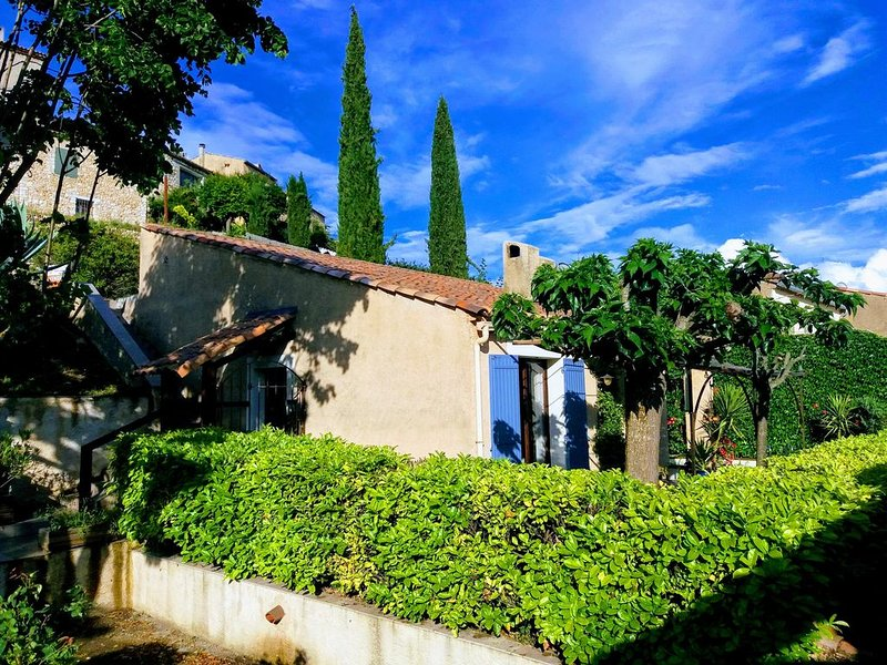 Maison 3 pièces  avec Jardin  et piscine face au Lac de Montpezat, holiday rental in Alpes-de-Haute-Provence