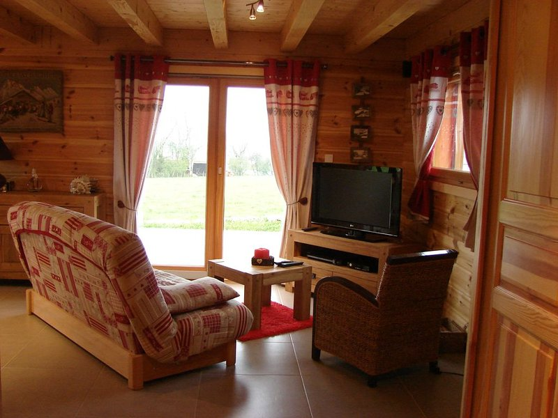 Chalet en pleine nature, holiday rental in Sancey-le-Grand