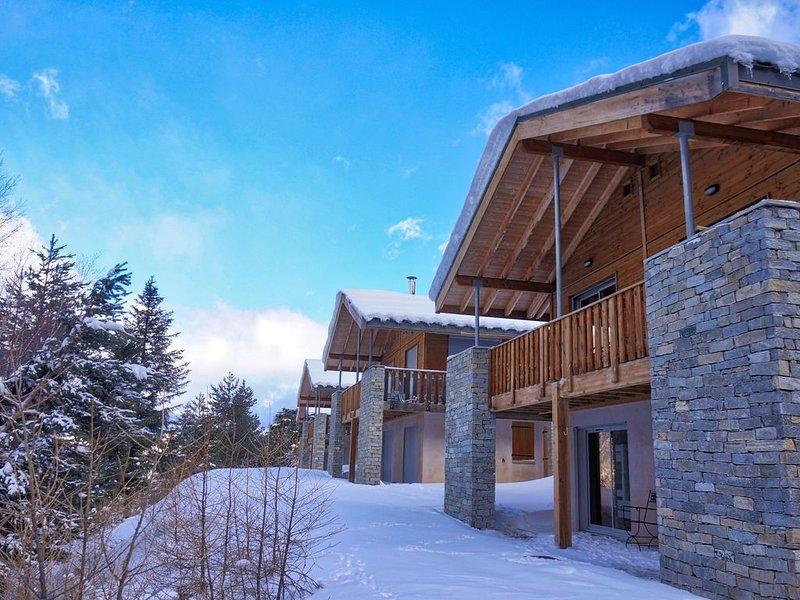 Grand chalet 3*** en Haute Maurienne, Savoie, station familiale et paisible, holiday rental in Villarodin-Bourget