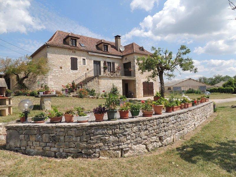 Parc naturel des Causses du Quercy, location de vacances à Montfaucon