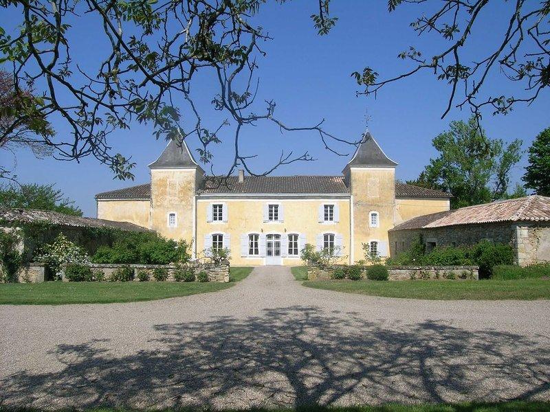 Ravissant Château du 18ème dans le Bordelais. Beaucoup de charme., vacation rental in Meilhan-sur-Garonne