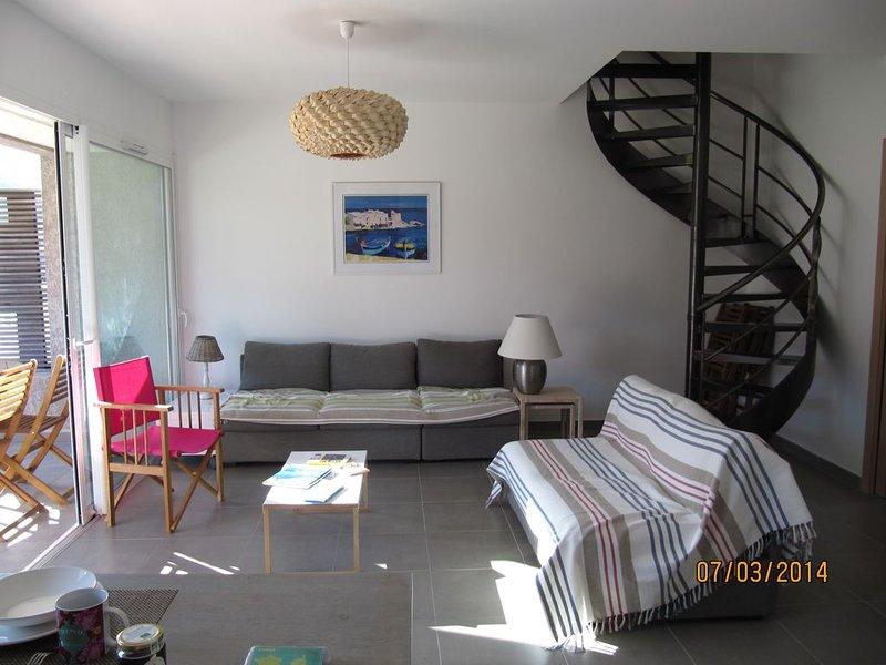 Luri apppartement T5, location de vacances à Canari