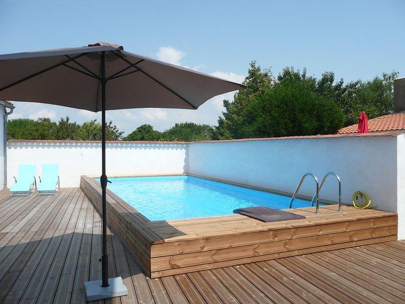 Maison centre de la tremblade avec piscine privée, vacation rental in La Tremblade