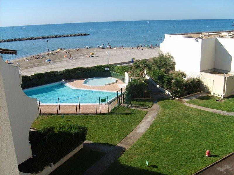 Appartement de standing direct plage et piscine, alquiler vacacional en Palavas-les-Flots