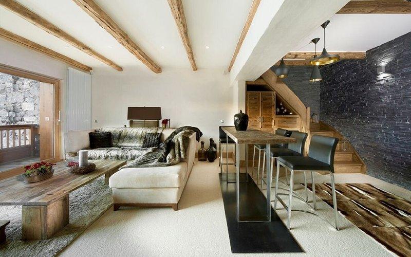 LOCATION APPARTEMENT LUXE 150 M2 COURCHEVEL 1850 CENTRE STATION, Ferienwohnung in Courchevel