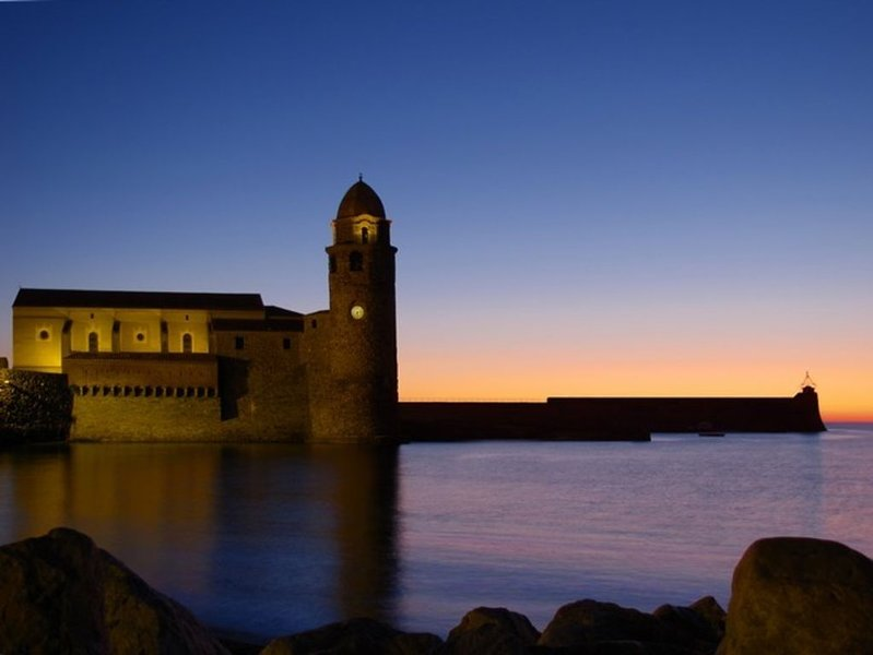 Collioure by night : so romantic !