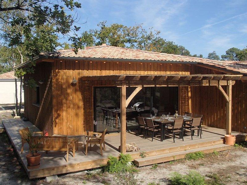 FARNIENTE à Maubuisson  Villa 3* 120 m² 4 chambres, vacation rental in Carcans