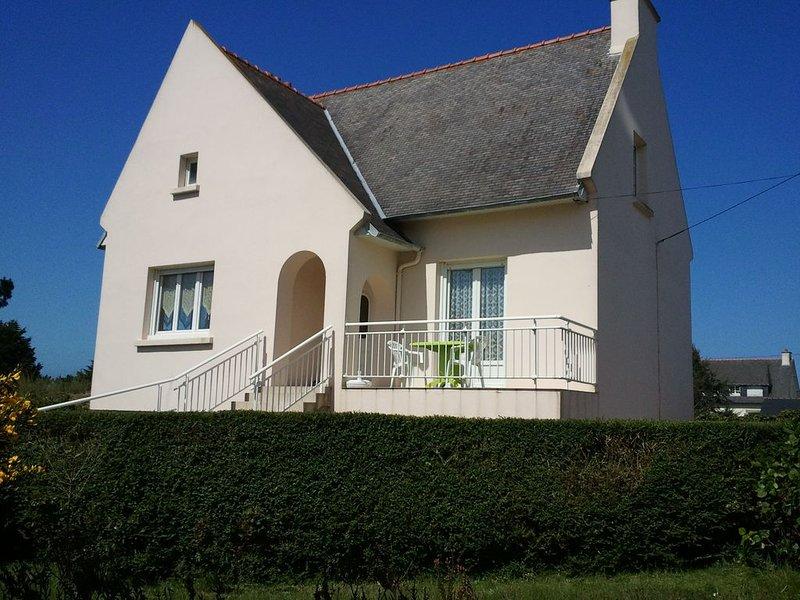Maison à 800m des plages de Beg Leguer, avec un jardin clos et arboré, vacation rental in Lannion