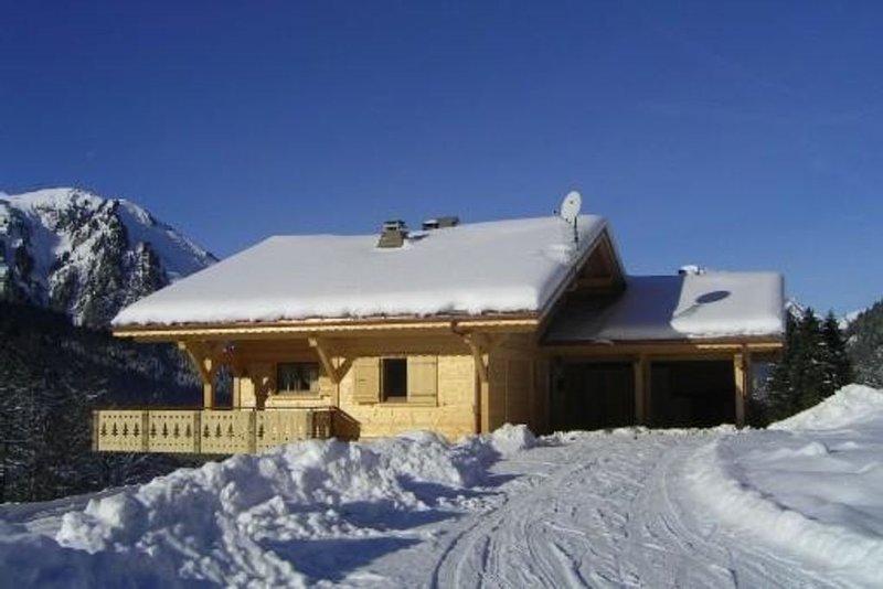 Un séjour de 7 jours minimum en hiver et été., vacation rental in Chatel