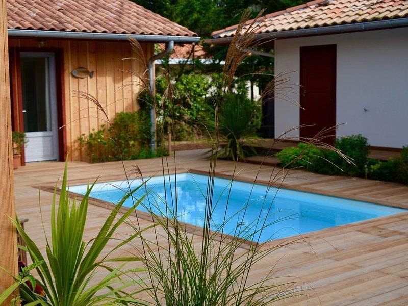 Très jolie maison en bord de mer,  chaleureux et bien équipée, alquiler de vacaciones en Landes