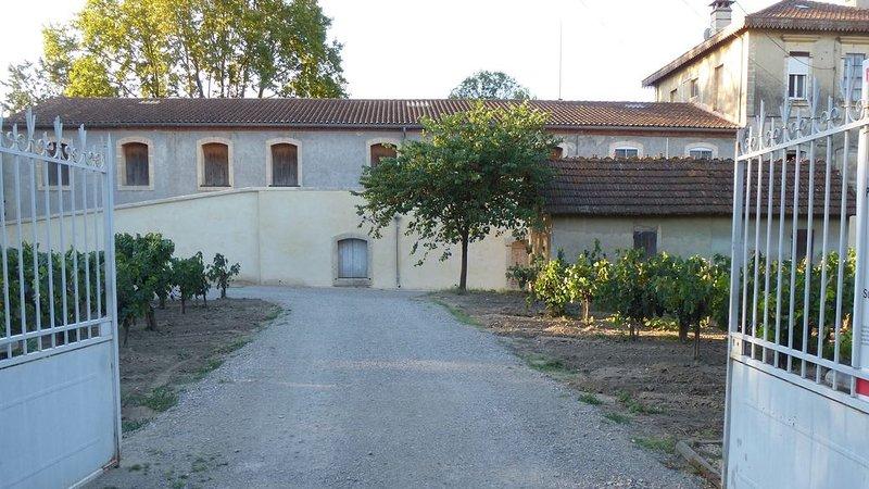 Location à la semaine d'une villa en petite Camargue avec piscine chauffée., holiday rental in Marsillargues