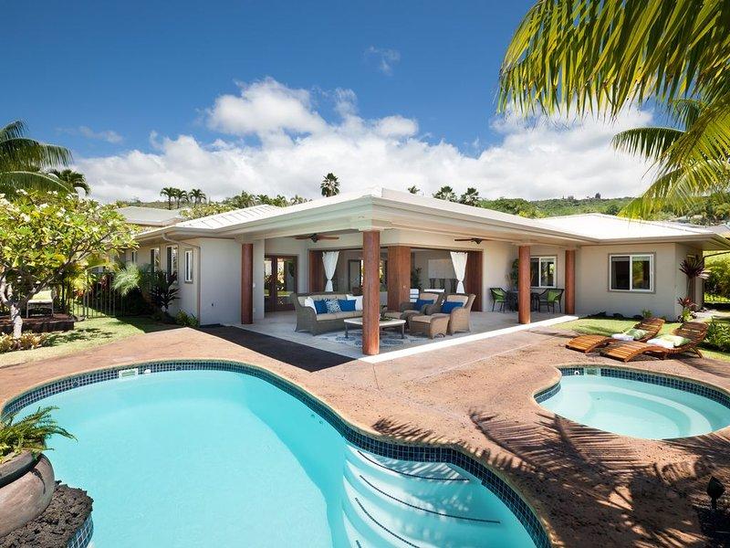 Ocean View Estate Home, holiday rental in Honalo