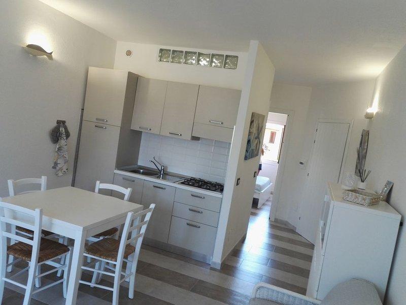 Appartamento 250 metri dal mare completamente ristrutturato con giardino privato, vacation rental in Porto San Paolo