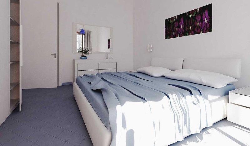 Casa a due passi dalla spiaggia, terrazzo con vista panoramica sul gargan, vacation rental in Zapponeta