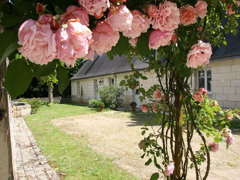 'La Closerie' au Château de Fontenay, Parc de 17 Ha avec Piscine et Tennis., alquiler vacacional en La Croix-en-Touraine