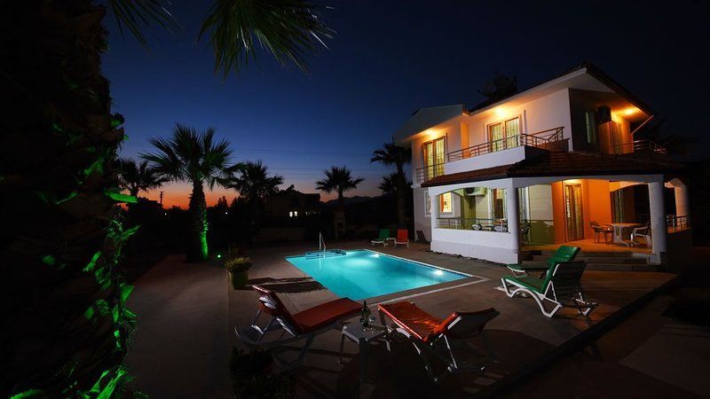 Stunning Detached 3 Bedroomed Villa With Private Pool, Spacious Garden & WiFi, holiday rental in Fethiye