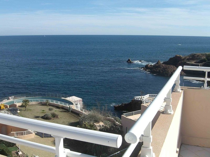 un mare entusiasmante in completo relax, holiday rental in Agay